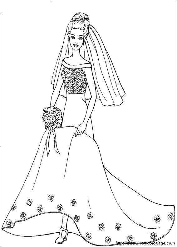 picture wedding dress barbie