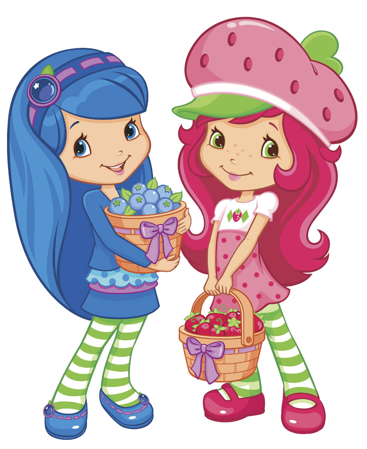 coloring Strawberry Shortcake, page strawberry shortcake