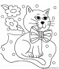 Cat Coloring Pages and Sheets For All Age Groups - free to print.