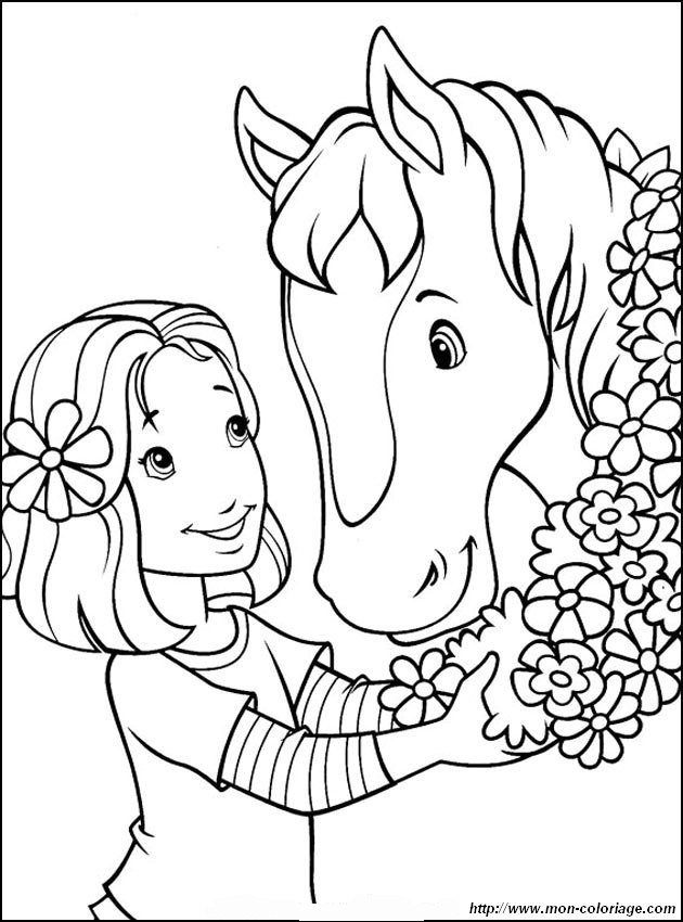 pretty flowers coloring pages - photo#22