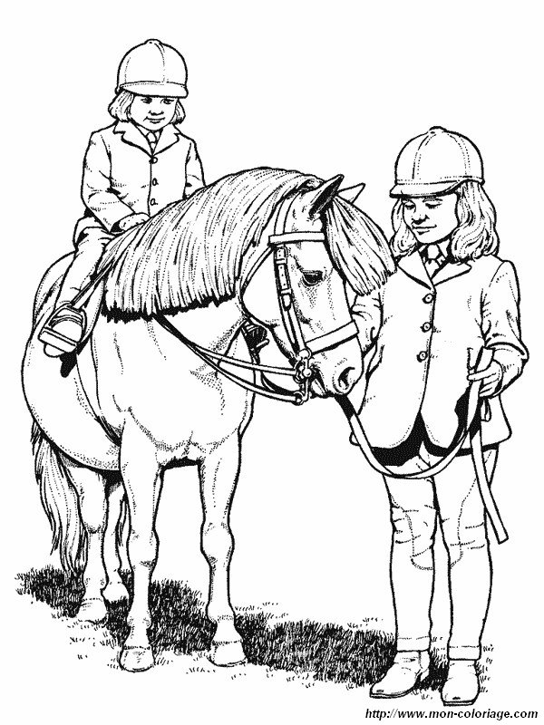 picture two girls with their horse
