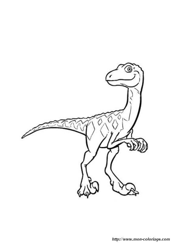 Coloring Dinosaur Train Page Dino Train2
