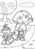boots the monkey and dora