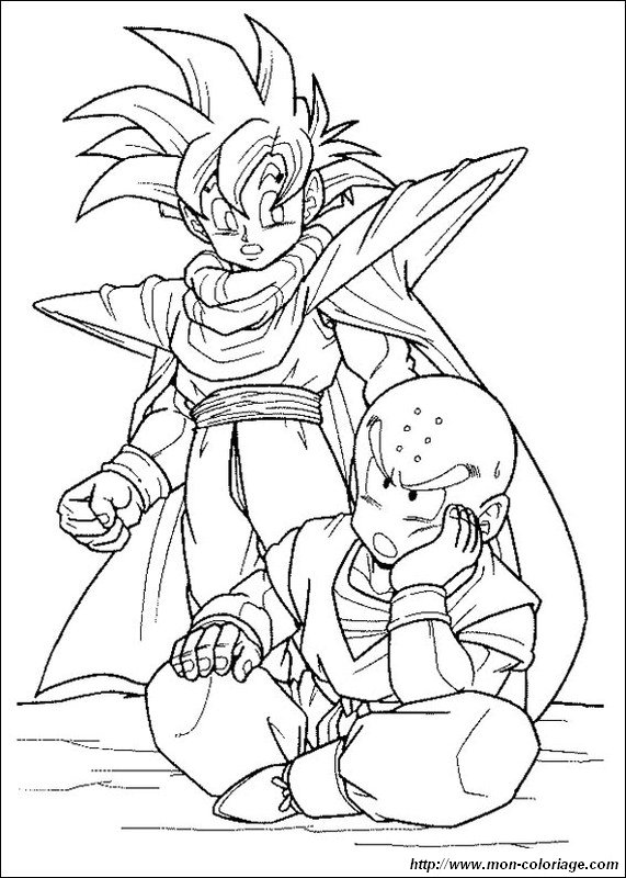 Picture Gohan With His Friend Kuririn