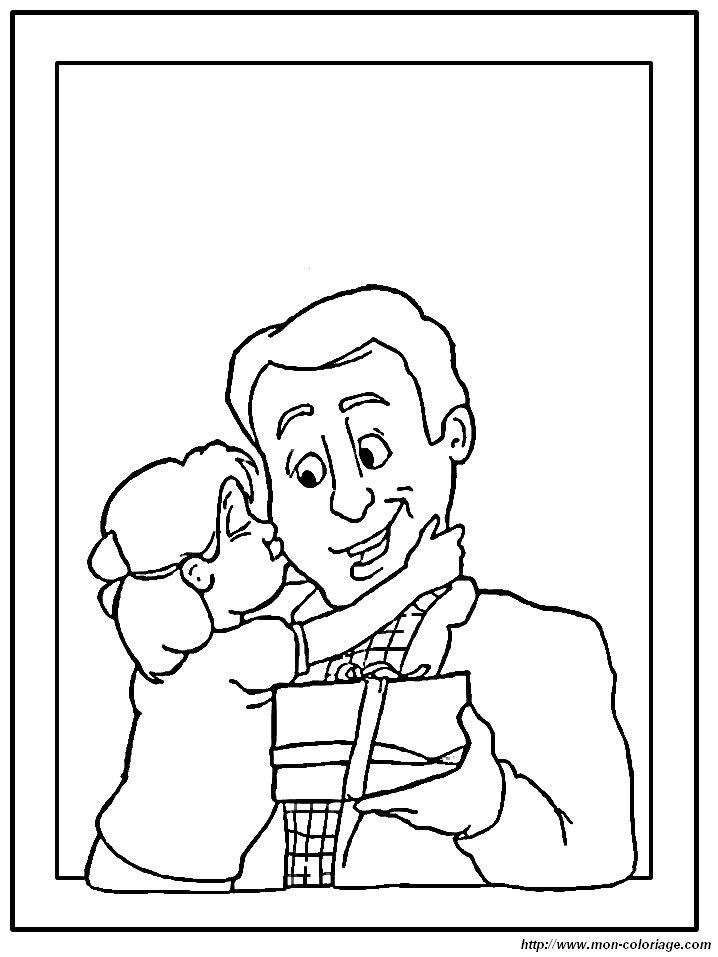 Рисунок папе на день рождения от дочки