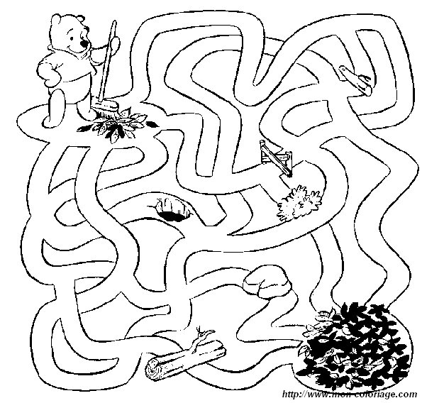 picture winnie pooh labyrinth