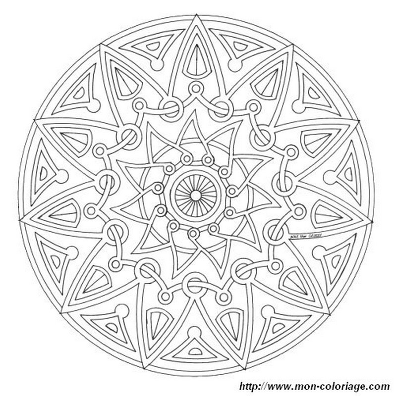coloring Mandalas, page mandalas more complicated