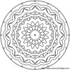 mandala not too difficult