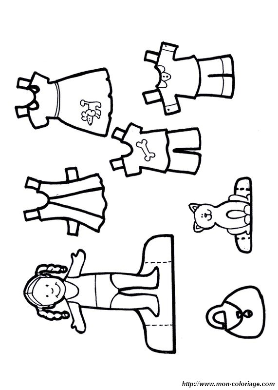 dress up coloring pages - photo#30