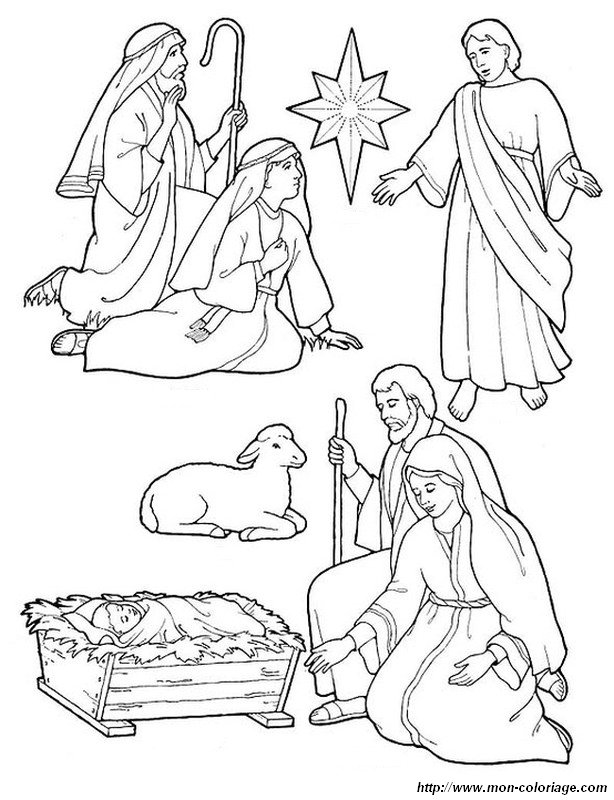picture the nativity