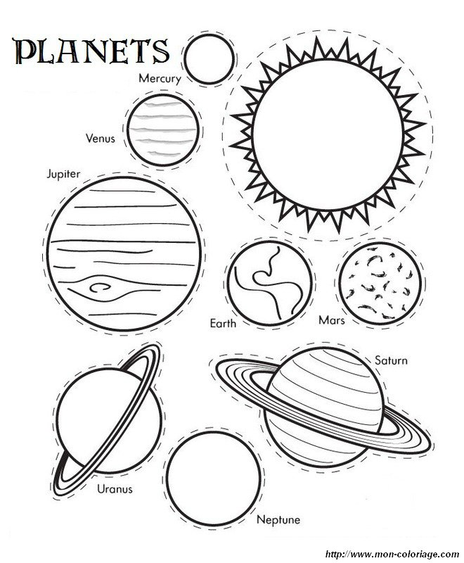 picture the solar system