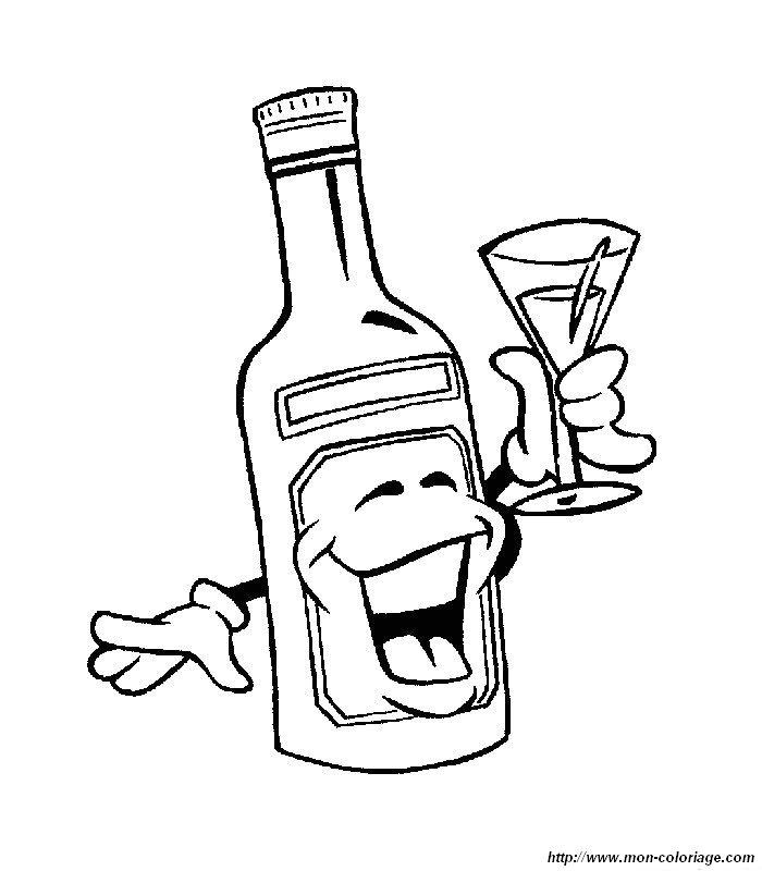 Днем учителя, картинка с рюмкой и бутылкой