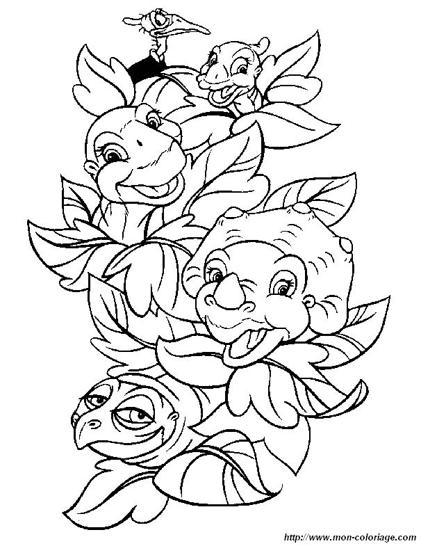 Coloring The Land Before Time Page Coloring The Land The Land Before Time Coloring Pages