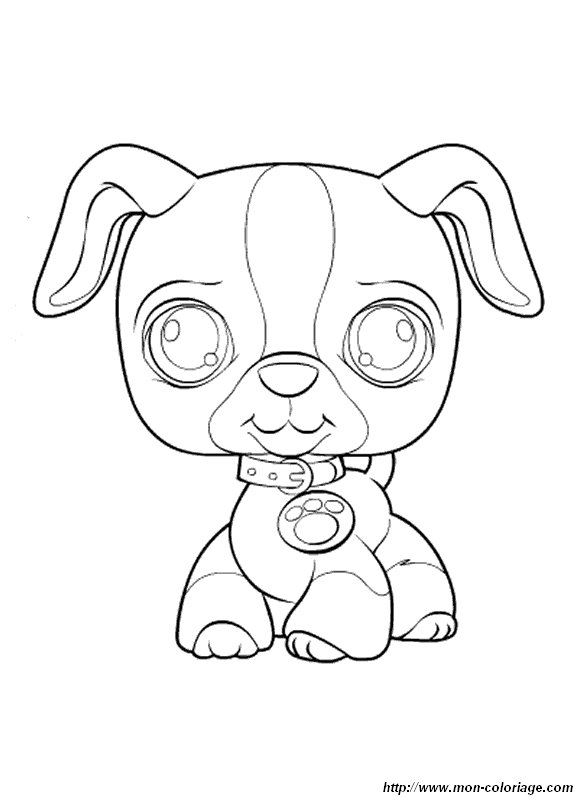Free coloring pages of pet shop worker