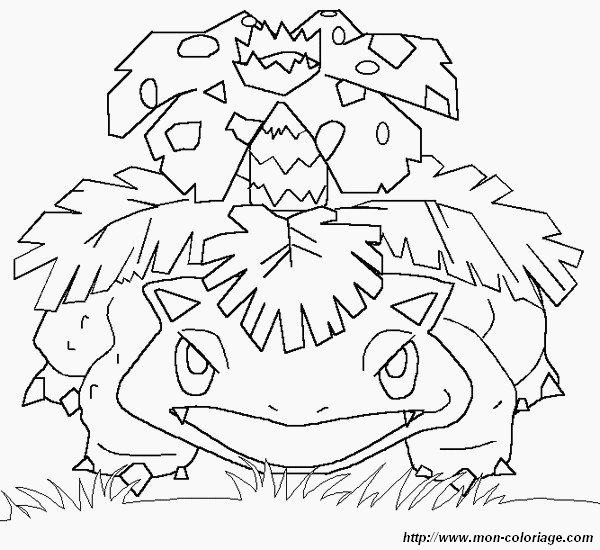 coloring Pokemon, page ivysaur