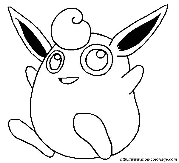 wigglytuff coloring pages - coloring pokemon page wigglytuff