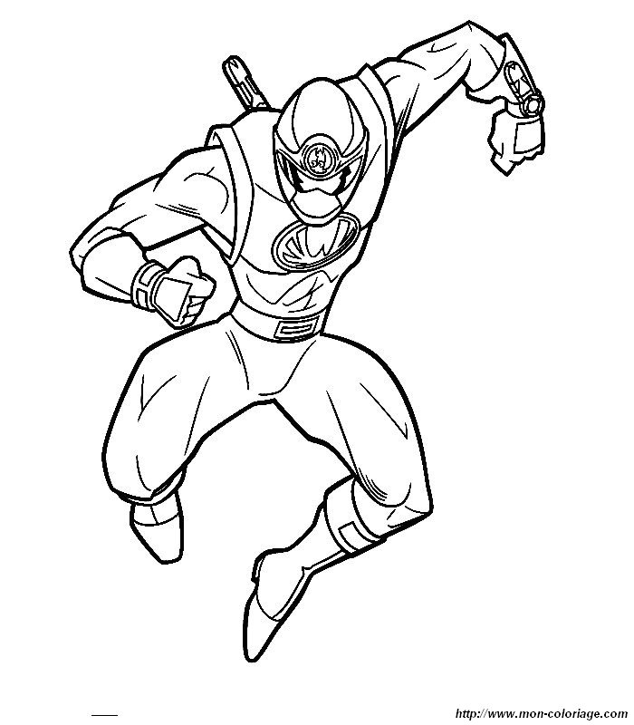 Red Power Ranger Samurai Coloring Pages Coloring Pages