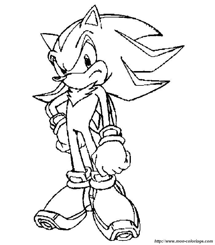 coloring Sonic, page 012