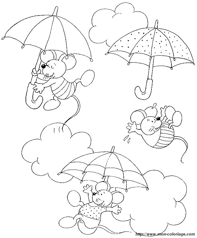 picture umbrella mouse