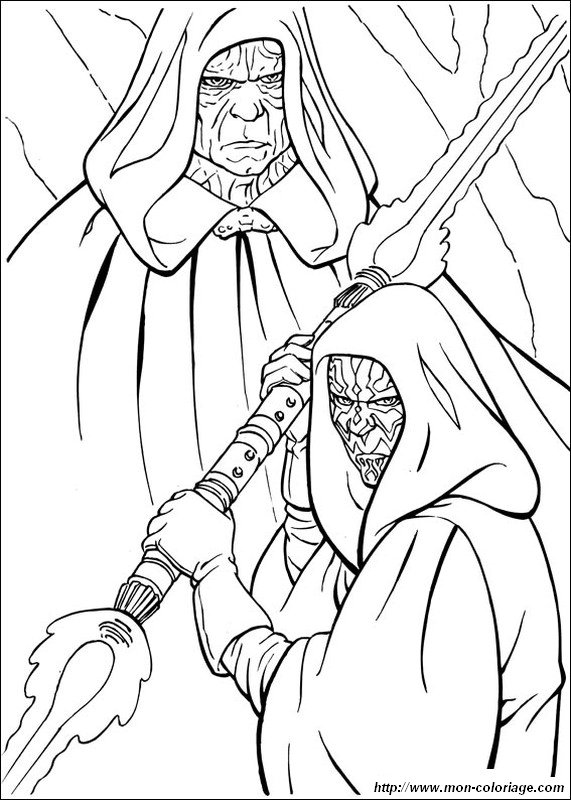 Free coloring pages of maul