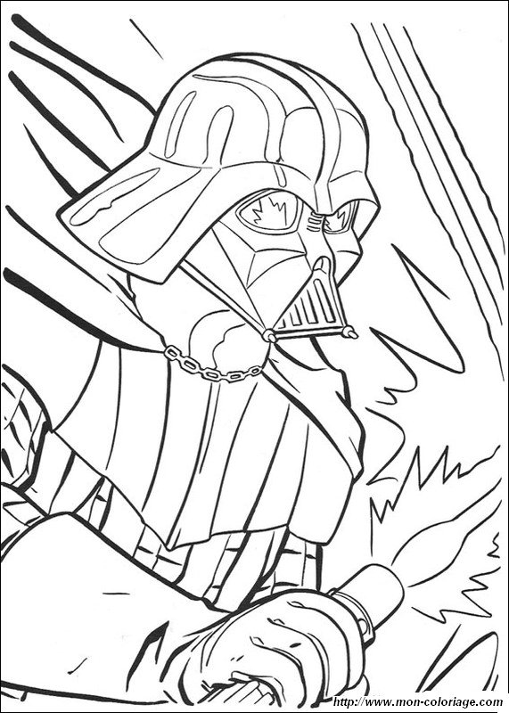 Coloring Pages - Darth Vader by RCBrock on DeviantArt | 800x571