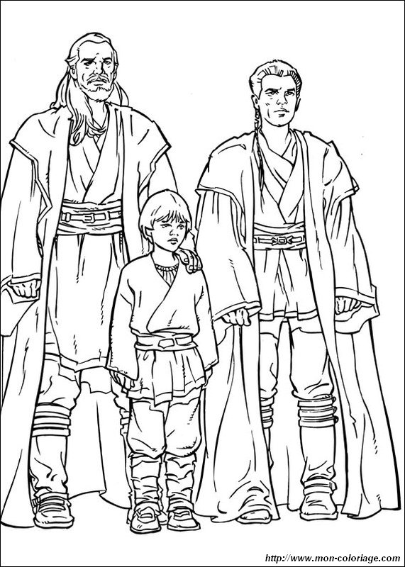 picture three jedi knights
