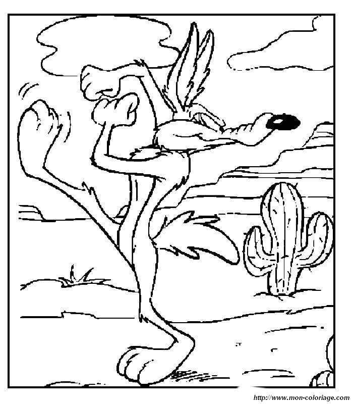 wile e coyote coloring pages - photo#7