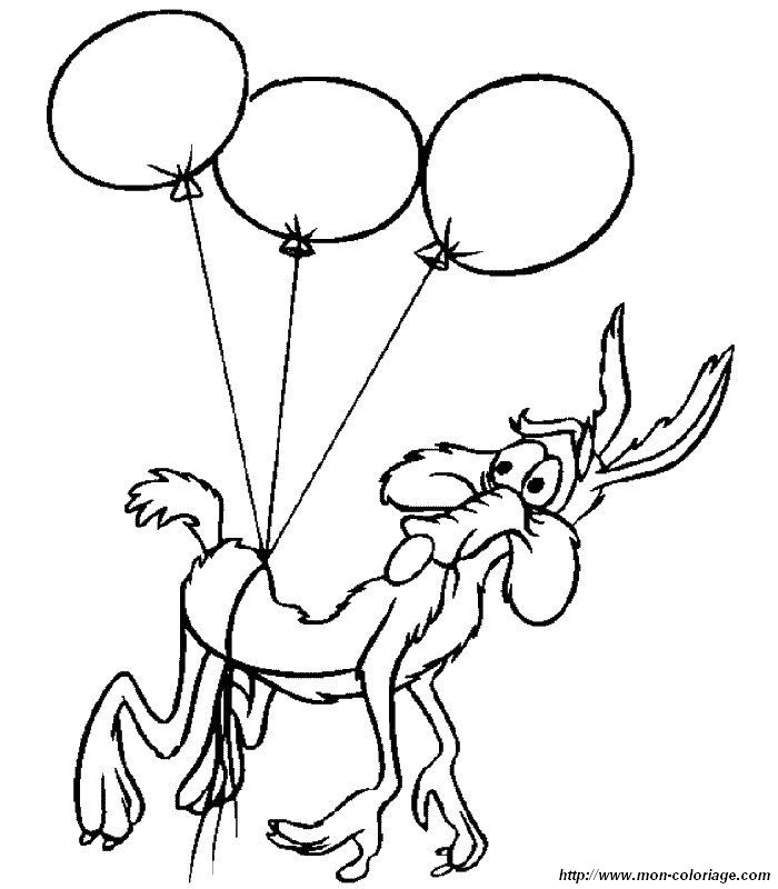 Coloring wile e coyote page wile coyote pages for Wile e coyote coloring pages