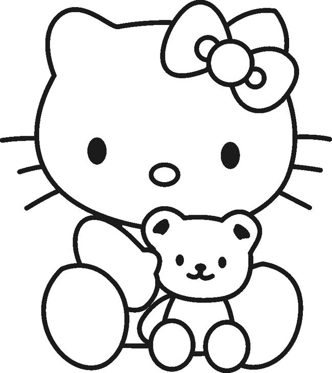 Free Printable Hello Kitty Coloring Pages For Kids Princess Hello ...